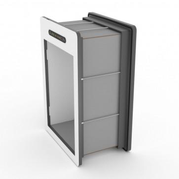 tunnelset - 30cm - large - HPL - grey/white