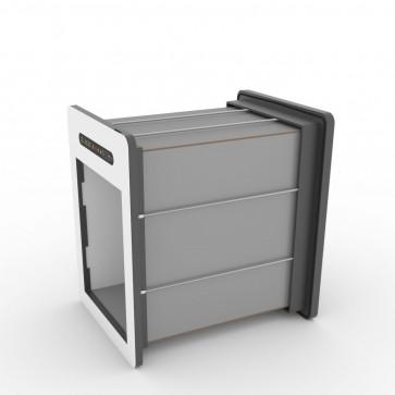 tunnelset - 50cm - medium - HPL - grey/white