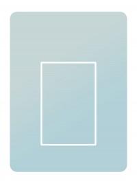 outside cover - medium - acrylic glass – crystal clear (0000)