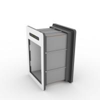 tunnelset - 30cm - medium - HPL - grey/white