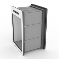 tunnelset - 40cm - large - HPL - grey/white