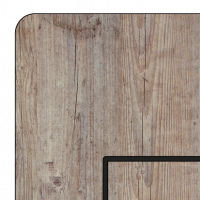 outside cover  - large - HPL – wood