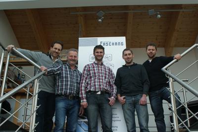 Das petWALK Mechanik Team bei Faschang Werkzeugbau GmbH