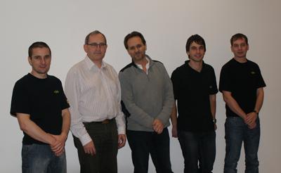 Das petWALK Elektronik Team von Ginzinger